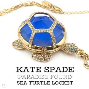 Kate Spade Paradise Found Sea Turtle Locket